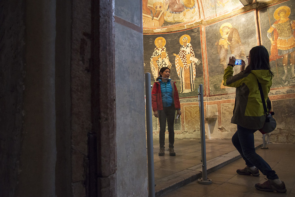 Visiting Chora Church 2014
